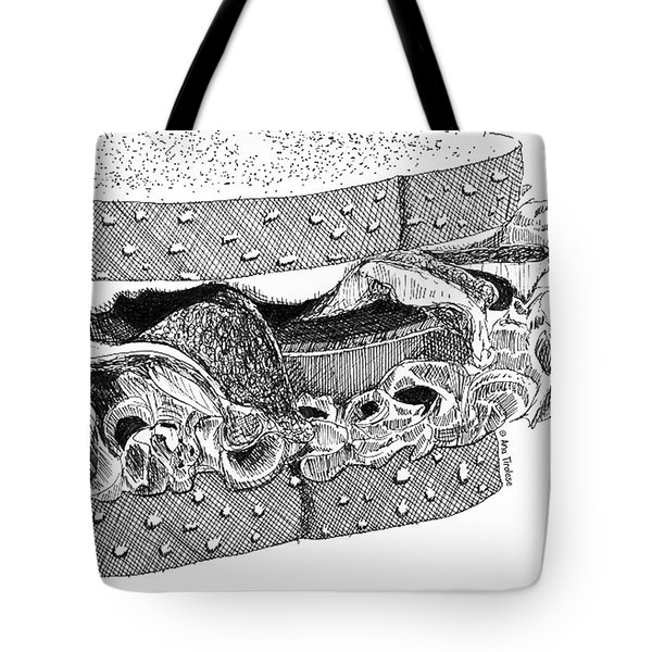 Blt Sandwich Tote Bag by Ana Tirolese