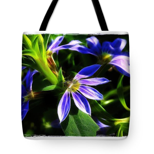 Blue Ballet Tote Bag by Judi Bagwell