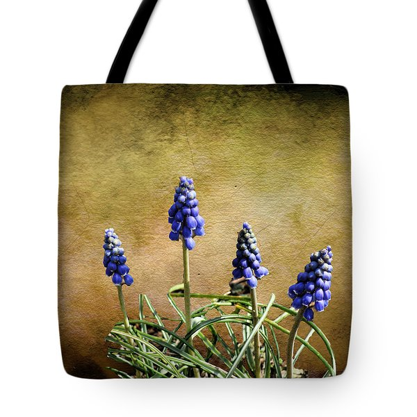 Blue Bells Tote Bag by Rick Friedle