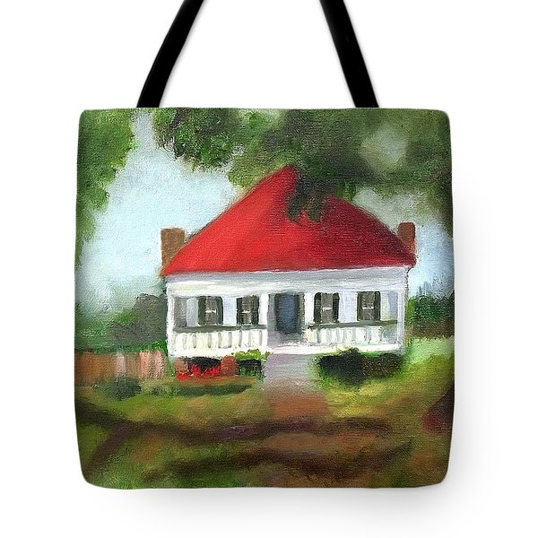 Blue Berry Farm In Clinton Tote Bag by Margaret Harmon