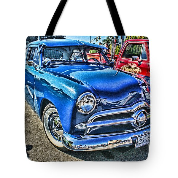Blue Classic Hdr Tote Bag by Randy Harris