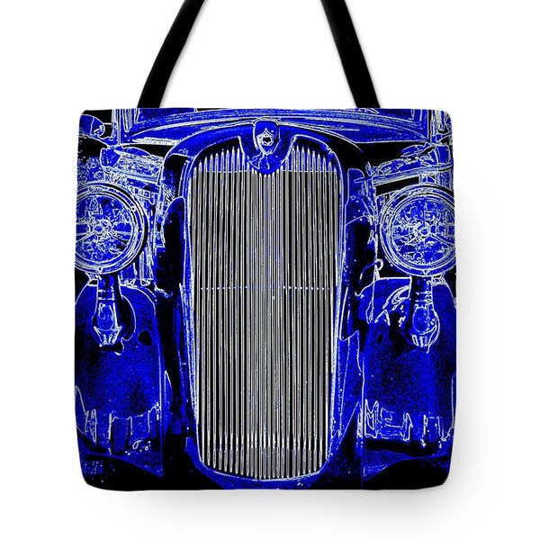 Blue Coupe Tote Bag by J R Seymour