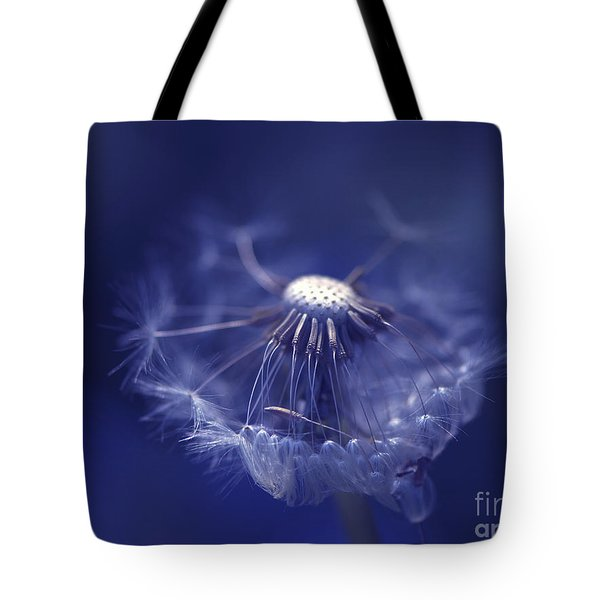 Blue Dandy Tote Bag by Sharon Talson