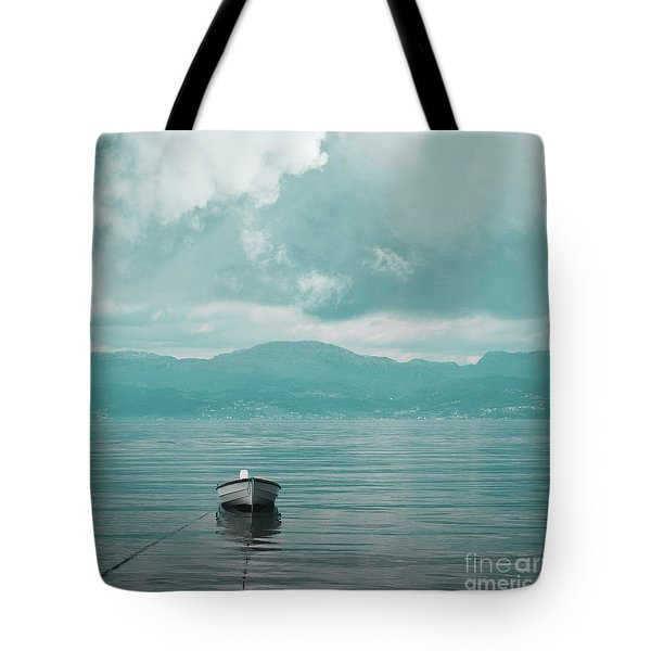 Blue Fjord Tote Bag