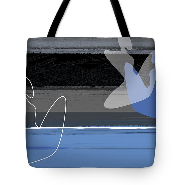 Blue Girls Tote Bag