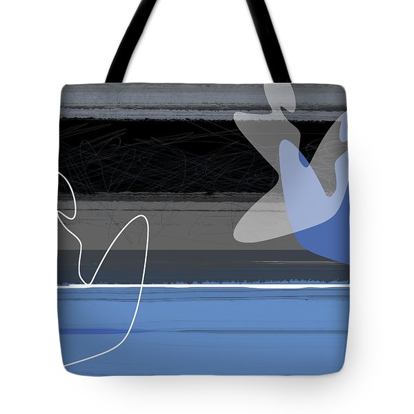 Blue Girls Tote Bag