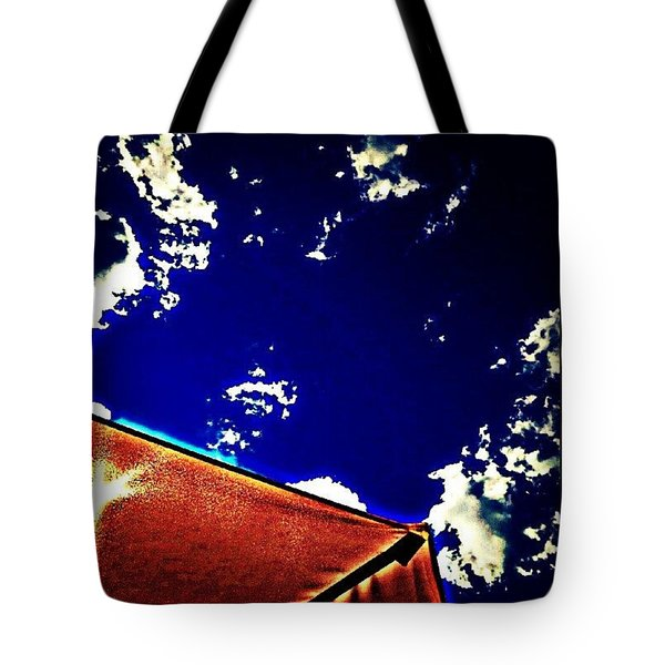 Blue Heat Tote Bag
