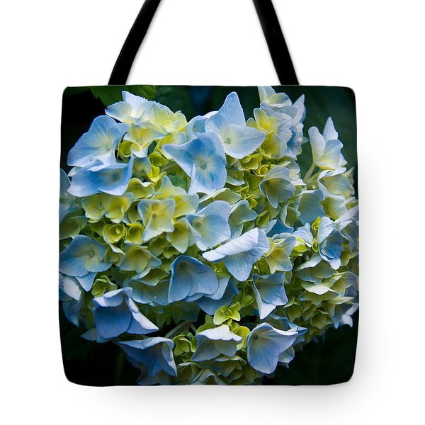 Blue Hydrangea Tote Bag by Theresa Johnson