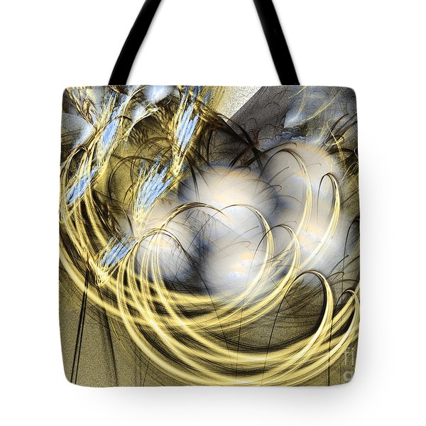 Blue Lullaby - Abstract Art Tote Bag