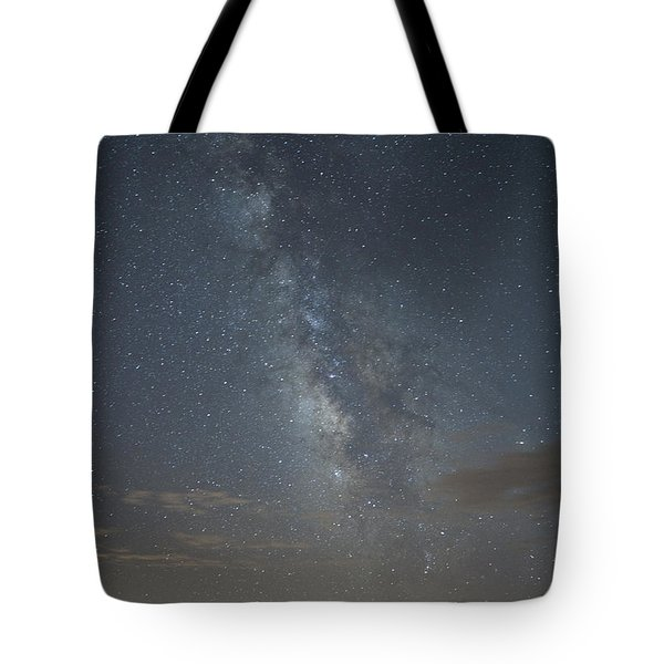 Blue Milky Way Tote Bag