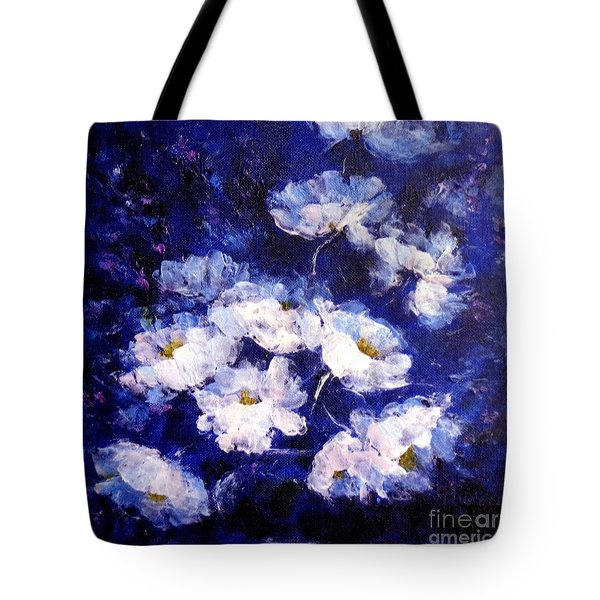 Blue Mood Tote Bag by Madeleine Holzberg