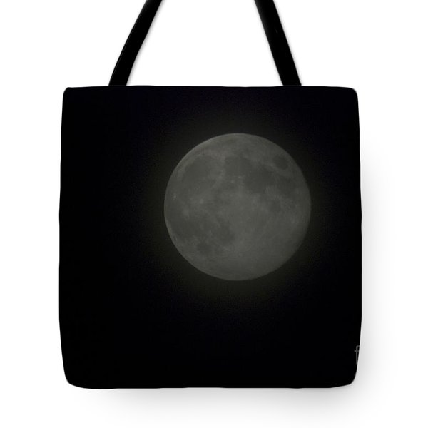 Blue Moon Tote Bag by Thomas Woolworth