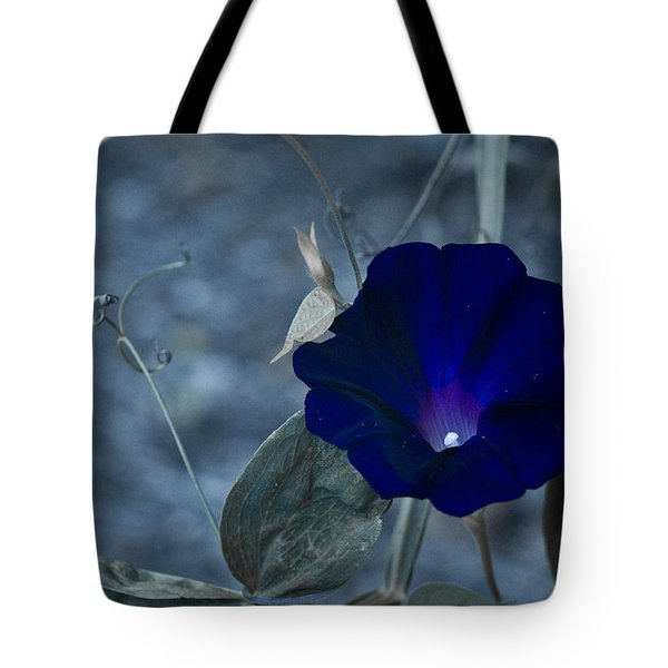 Blue Petunia 2 Tote Bag