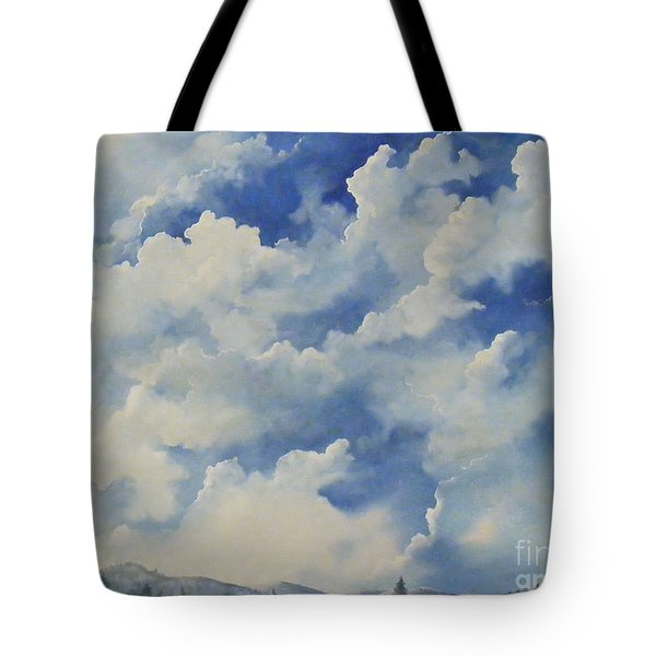 Blue Ridge Vista...sold  Tote Bag