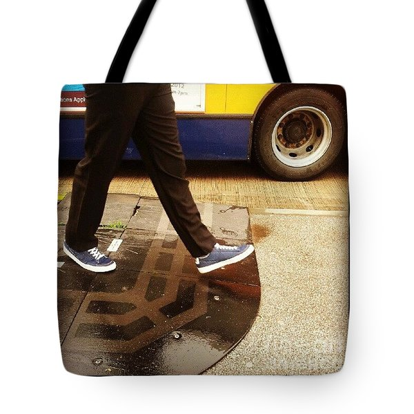 Blue Shoes Tote Bag