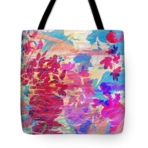 Blue Skies And Magic Pots Tote Bag by Rachel Christine Nowicki