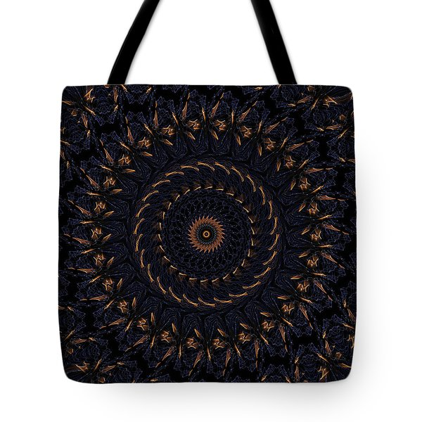 Blue Velvet 4 Tote Bag by Rhonda Barrett