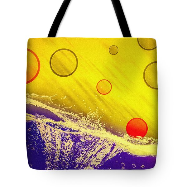Blue Yellow Red Tote Bag by Bob Orsillo