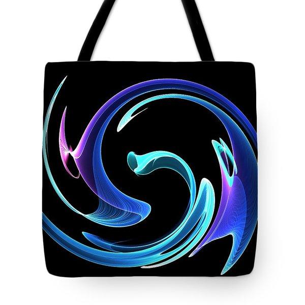 Dancing Blues Tote Bag by Maciek Froncisz