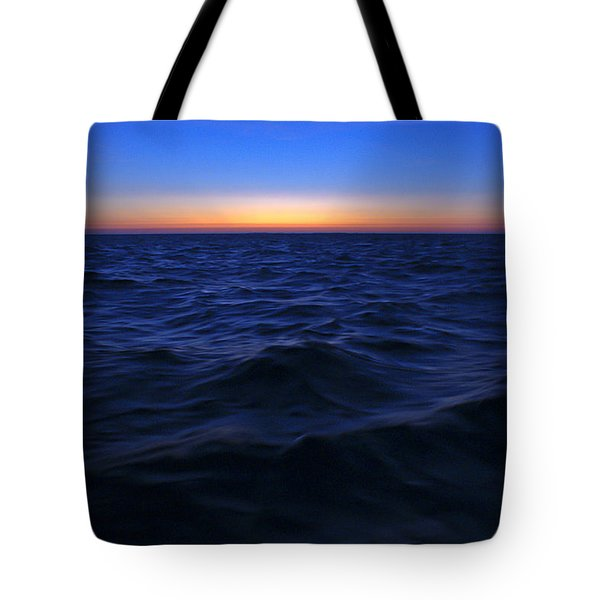 Bluewater Sunset Tote Bag by Gary Eason