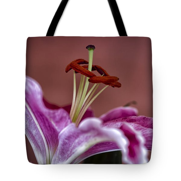 Blushing Bloom Tote Bag