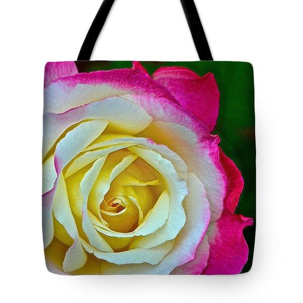 Blushing Rose Tote Bag by Bill Owen