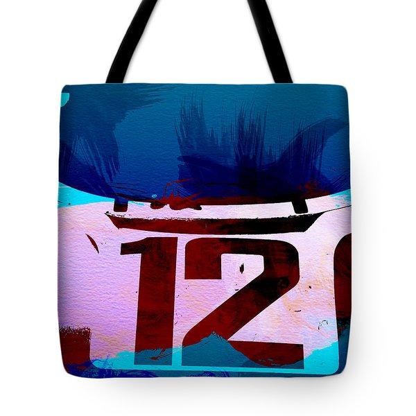 Bmw Racing Watercolor Tote Bag