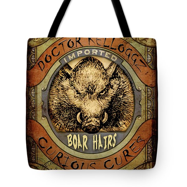 Boar Hairs  Tote Bag