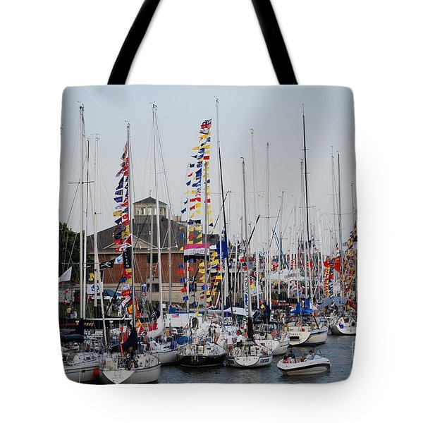 Boat Night Tote Bag