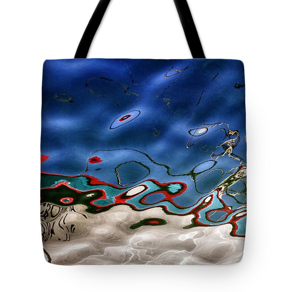 Boat Reflexion Tote Bag by Stelios Kleanthous