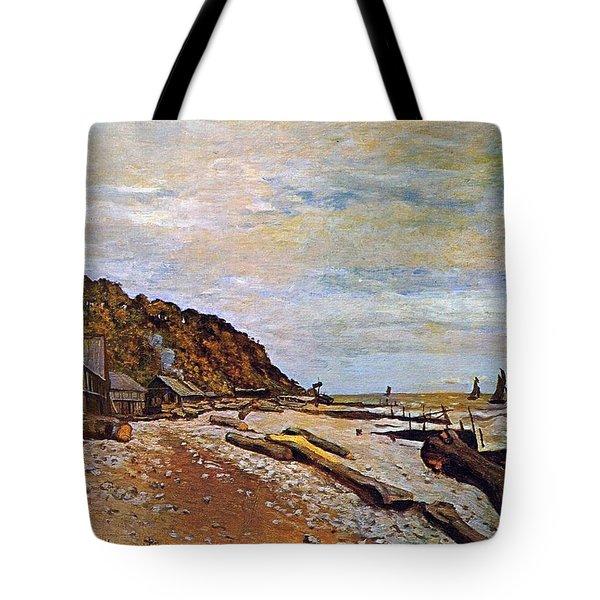 Boatyard Near Honfleur Tote Bag by Claude Monet