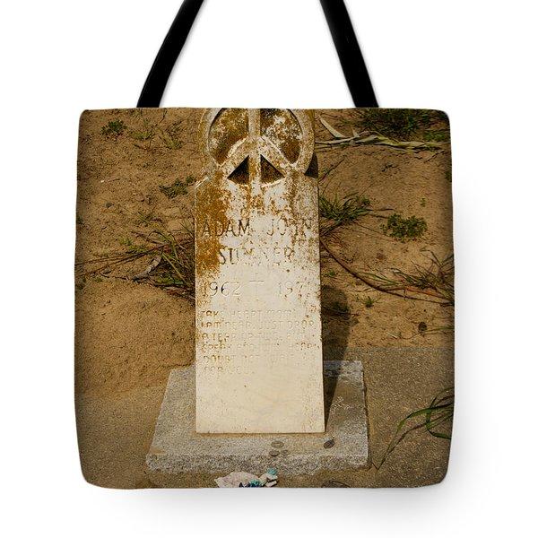 Bodega Bay Cemetery Tote Bag