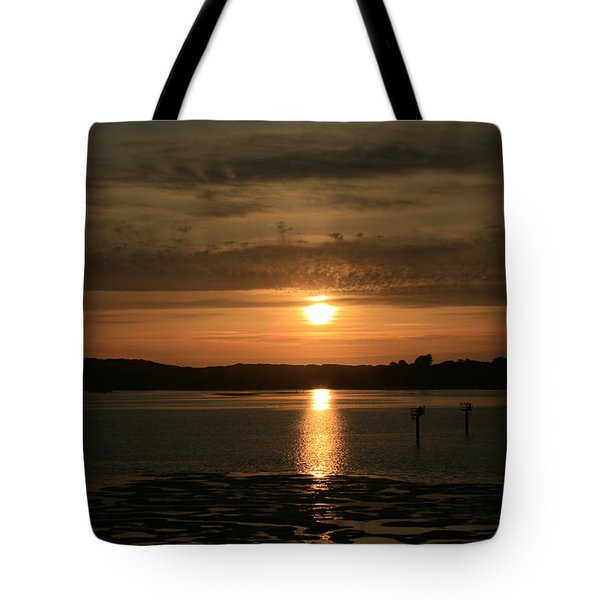 Bodega Bay Sunset II Tote Bag by Suzanne Lorenz