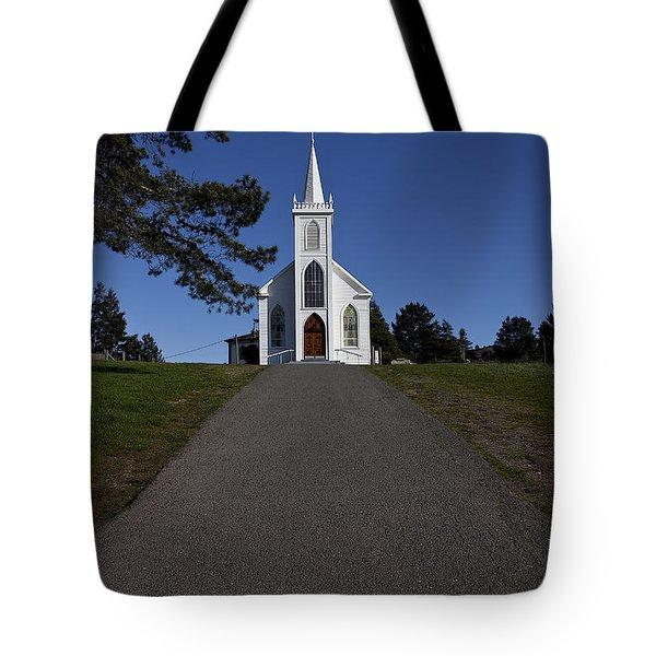 Bodega Church Tote Bag by Garry Gay