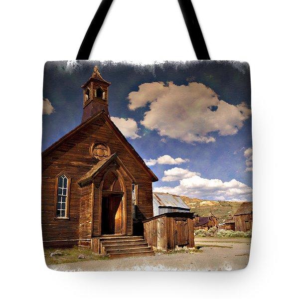 Bodie Church - Impressions Tote Bag