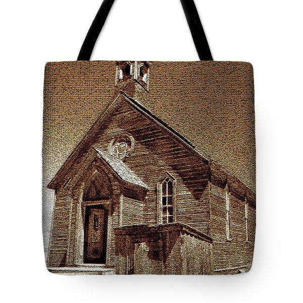 Bodie Church Tote Bag by David Lee Thompson