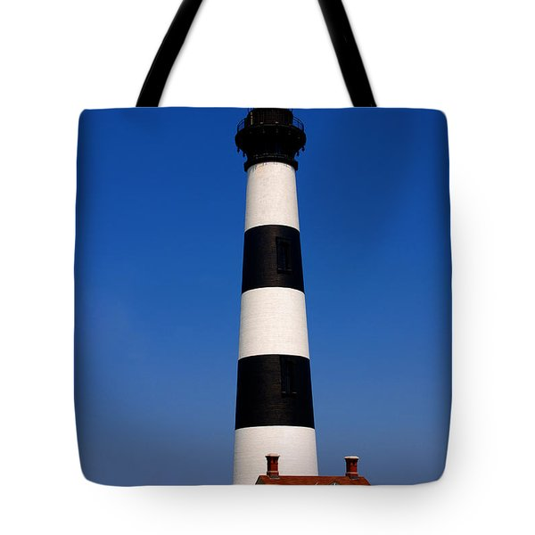 Bodie Island Lighthouse Outer Banks Nc Tote Bag by Susanne Van Hulst