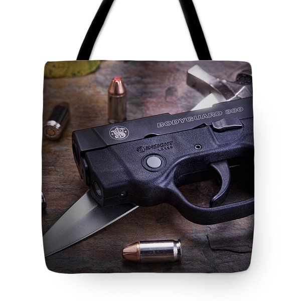 Bodyguard Concealed Carry Tote Bag by Tom Mc Nemar