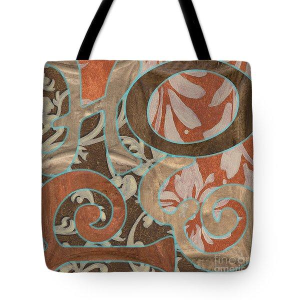 Bohemian Hope Tote Bag by Debbie DeWitt