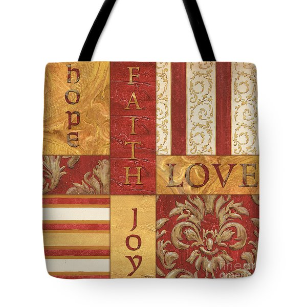Bohemian Red Spice 1 Tote Bag