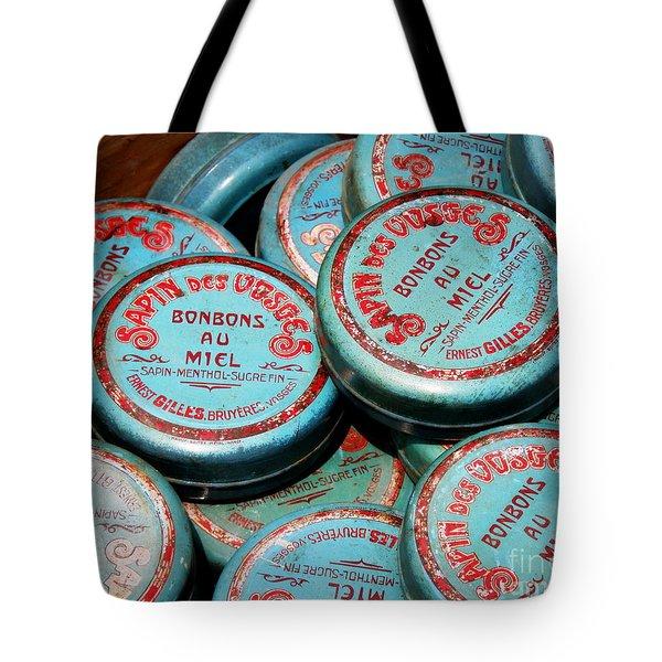 Bonbons Au Miel Tote Bag by Lainie Wrightson