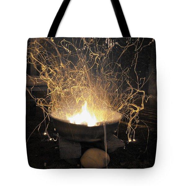 Bonfire Tote Bag by Sumit Mehndiratta