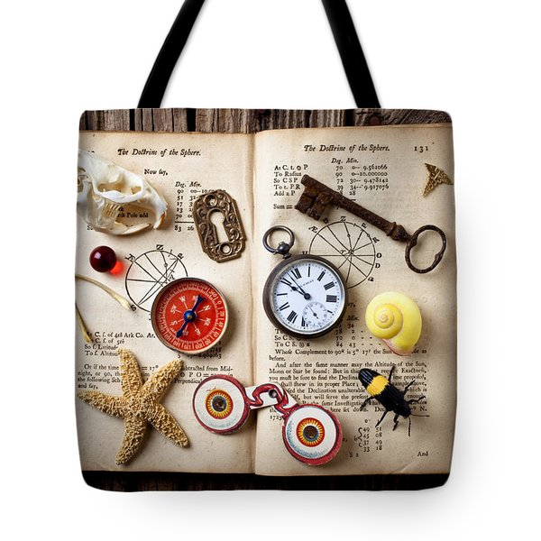 Book Of Mystery Tote Bag by Garry Gay