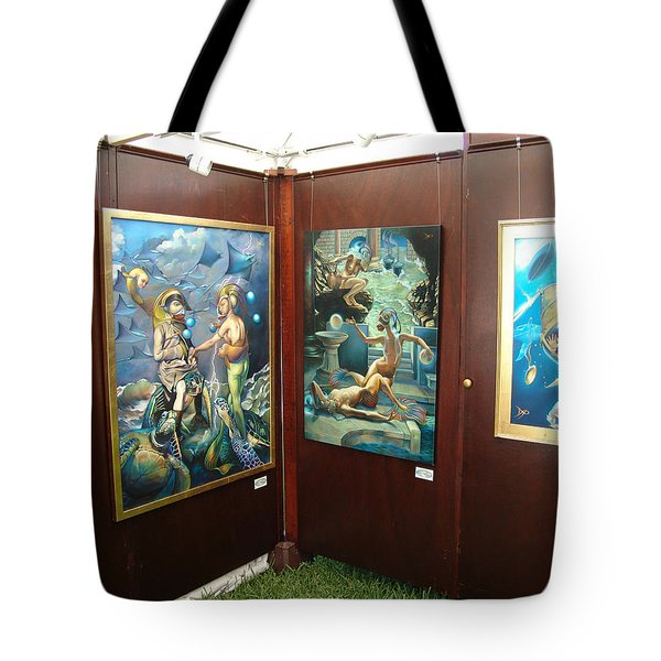 Booth 4 Tote Bag by Patrick Anthony Pierson
