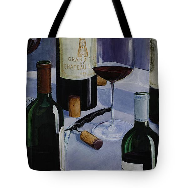 Bordeaux Tote Bag by Geoff Powell