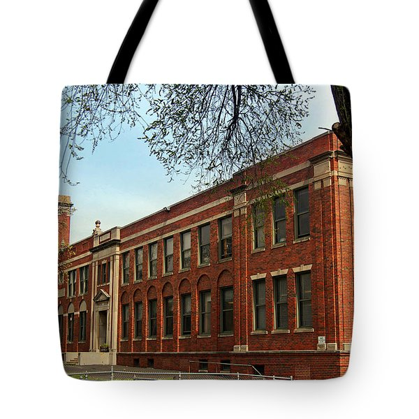Border Star Elementary School Kansas City Missouri Tote Bag