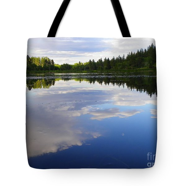 Borrowed Blue Tote Bag by KD Johnson
