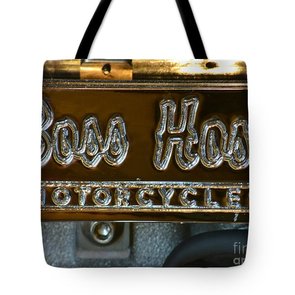 Boss Hoss Tote Bag by Newel Hunter