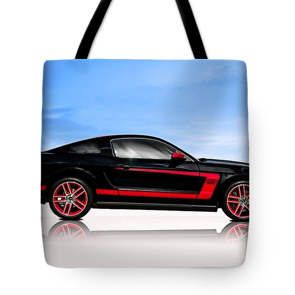 Boss Mustang Tote Bag
