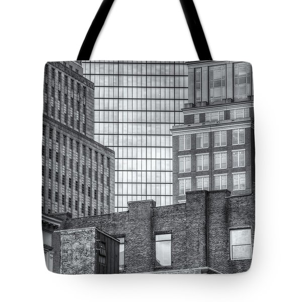 Boston Building Facades II Tote Bag by Clarence Holmes